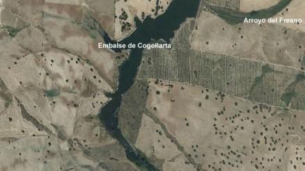 Presa de Cogollarta - Cogolla Alta - Belalcazar - Embalse de Cogollarta - Pantano de Cogollarta