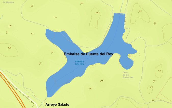 Fuente del Rey Dam & Reservoir