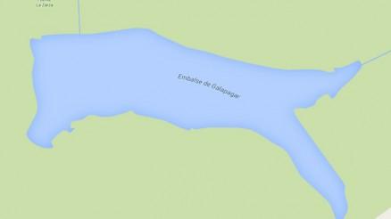 Presa de Galapagar - Embalse de Galapagar - Embalse Arroyo de Cañada Morena - Pantano de Galapagar - Hinojosa del Duque