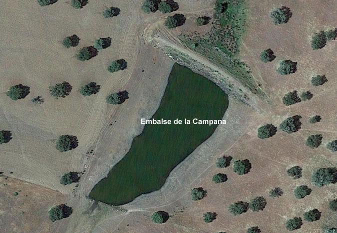 Presa de la Campana - Embalse de la Campana - El Viso - Córdoba
