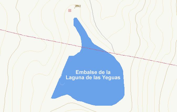 Presa de la Laguna de las Yeguas - Embalse de la Laguna de las Yeguas - Pantano de la Laguna de las Yeguas - Dílar - Laguna de Dílar