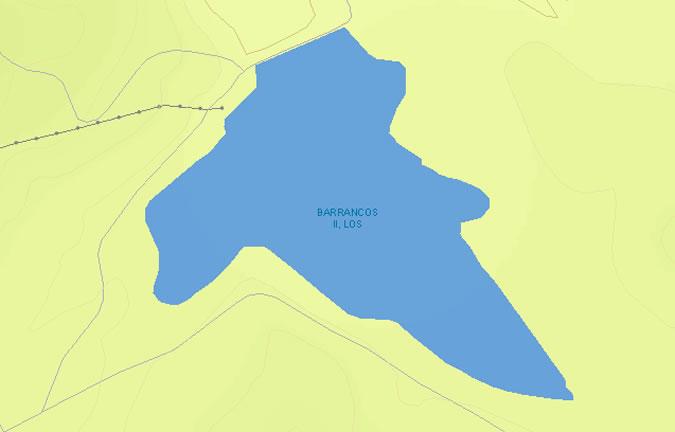 Presa de los Barrancos II - Embalse de los Barrancos Bajos - Embalse de los Barrancos II - Embalse de Carrascosa II - Pantano de los Barrancos II - Puerto Real