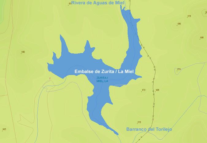 Presa de Zurita - Embalse de Zurita - La Miel - Paymogo