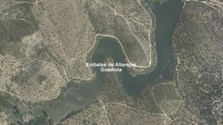 Presa de Altarejos - Embalse de Altarejos - Pantano de Altarejos - Embalse de Guaditoca - Presa de Guaditoca - Guadalcanal - Sevilla