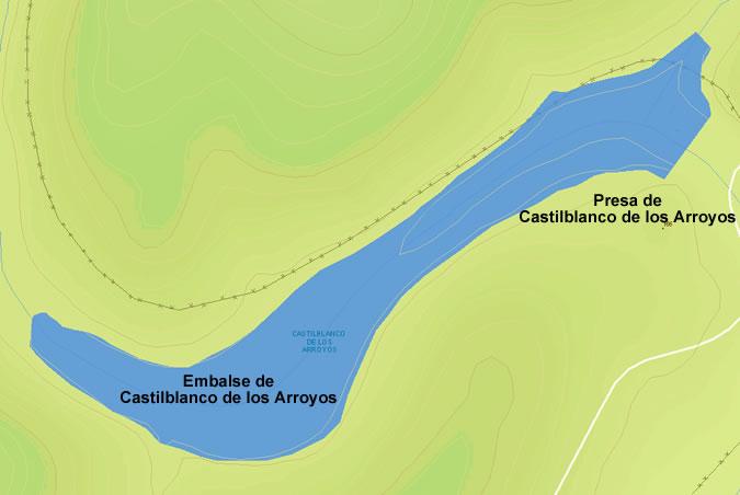 Presa del Embalse de Castilblanco de los Arroyos