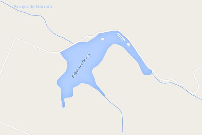 Presa del Embalse El Alamillo - Écija - Presa del Alamillo - Embalse del Alamillo - Pantano del Alamillo - Embalse El Alamillo
