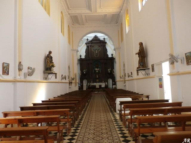 Antiguo Convento de Franciscanos Descalzos (Iglesia de Mª. Auxiliadora), Arcos de la Frontera