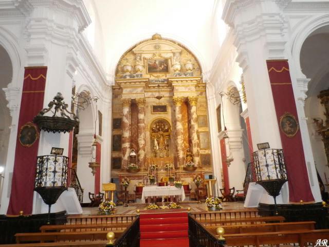 Iglesia de San Juan Bautista - Retablo - Las Cabezas de San Juan