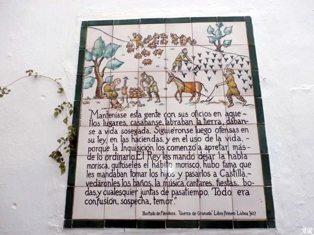 Mosaicos de la Rebelión de los Moriscos - Frigiliana 29/01/2017