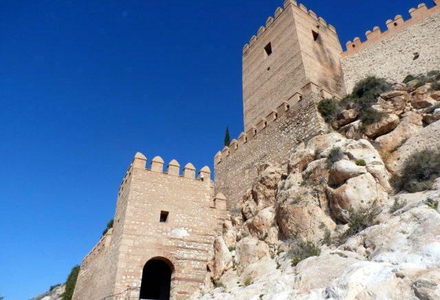 Alcazaba de Almería - Alcazaba of Almeria - Fortress in Almería