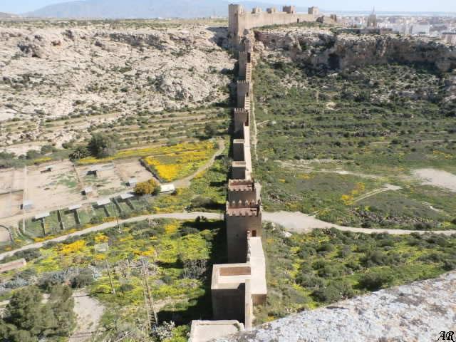 Muralla de Jairán /Jayrán - Muralla defensiva del Barrio de la Musalla