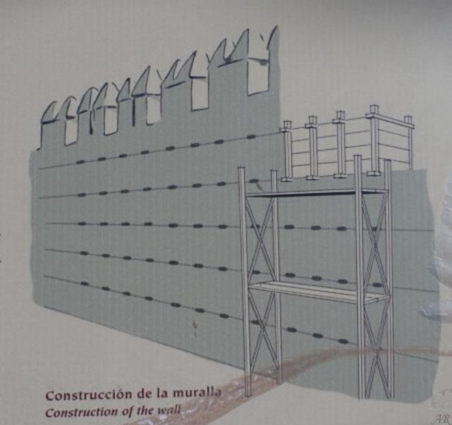 Muralla Norte de la Alcazaba de Almería