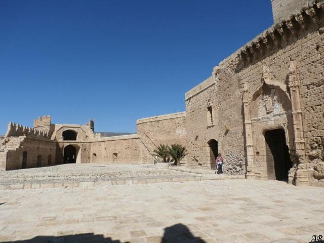 Patio de Armas - Alcazaba de Almería