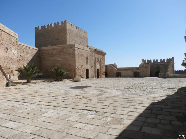 Patio de Armas de la Alcazaba de Almería