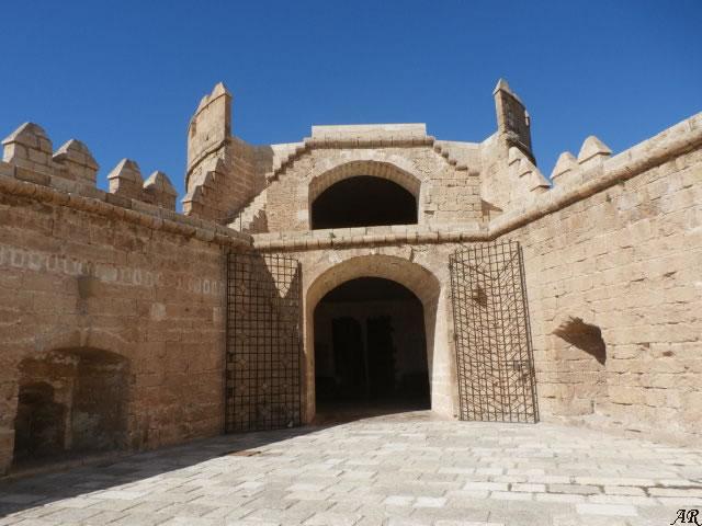 Torre de la Pólvora de la Alcazaba de Almería