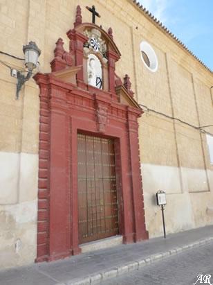 Portada del Convento de Santa Catalina de Osuna
