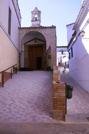 Ermita del Santo Cristo y Calleja de San Cristobal - Santaella