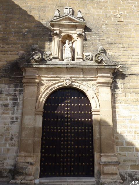 Portada del Convento de San José y San Roque de Aguilar de la Frontera