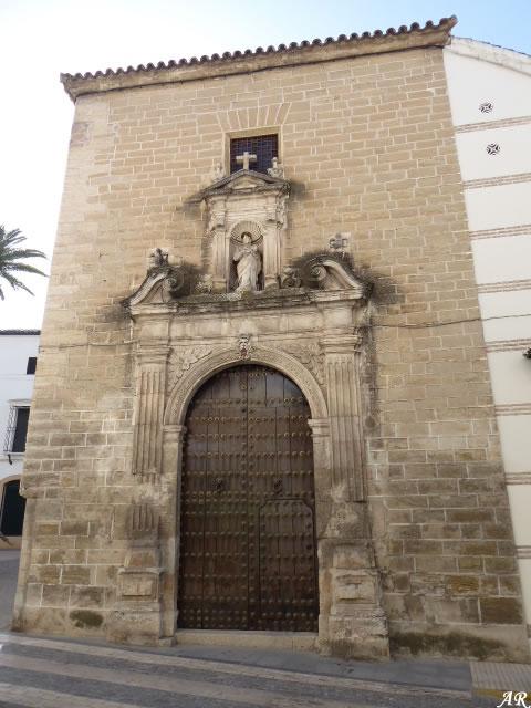 Portada del Convento de San José y San Roque - Aguilar de la Frontera