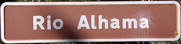 Itinerario por los Tajos y Presa de Alhama, Alhama de Granada