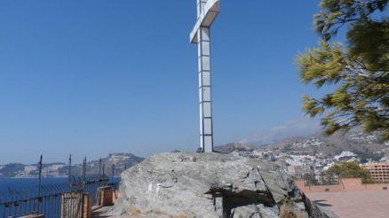 Cruz del Santo - Peñones de San Cristóbal - Peñón del Santo - Peñón de Enmedio y Peñón de Fuera - Almuñécar