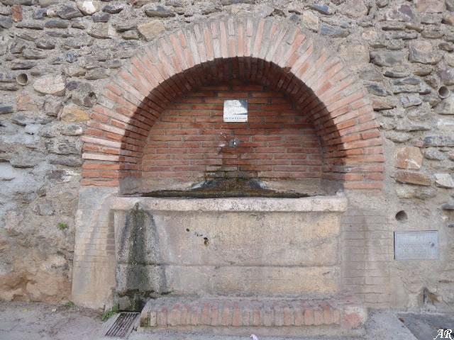 Fuente del Barrio Alto de Canjáyar