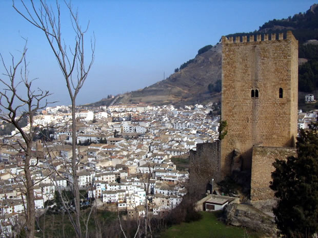 Panorámica desde el Castillo de Cazorla