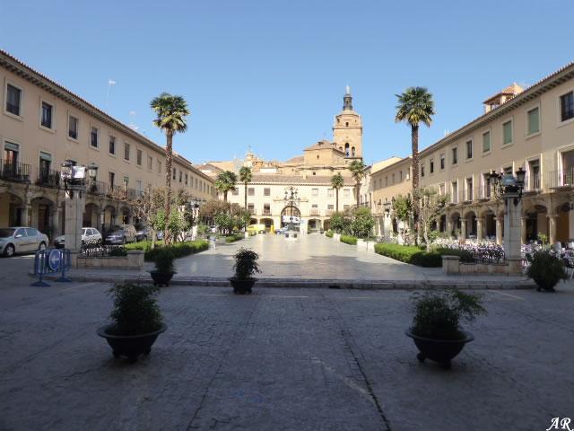 Plaza de los Corregidores de Guadix