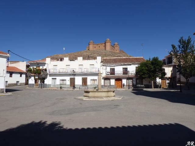 Plaza del Ayuntamiento de La Calahorra