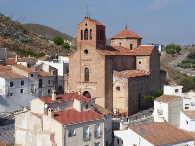Iglesia de Ntra. Sra. del Rosario de Lubrín - Almeria
