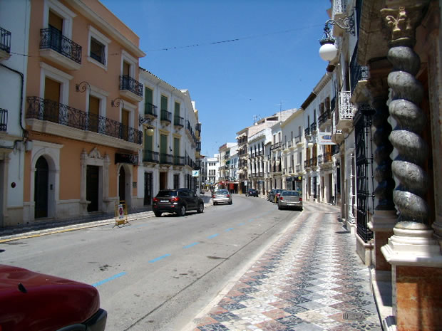 Calle del r o en el pueblo de priego de c rdoba for Calle palma del rio malaga