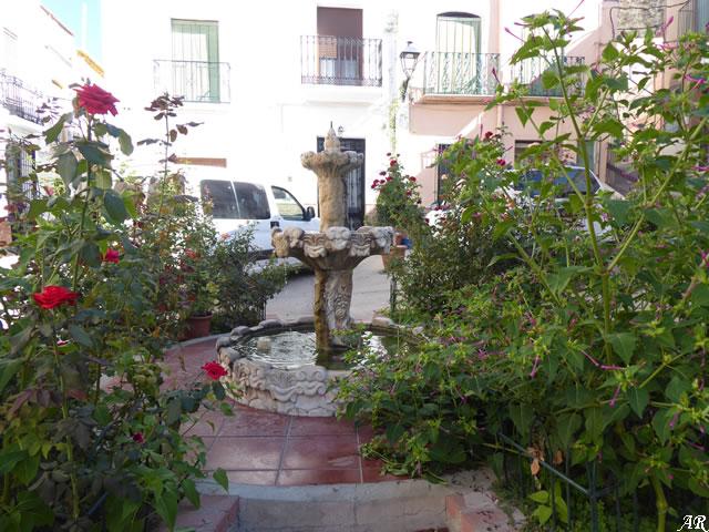 Fuente Plaza de Andalucía - Rágol