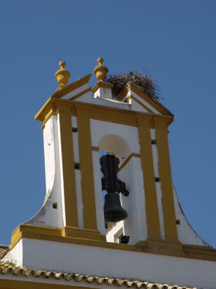 Church of San Roque bell tower