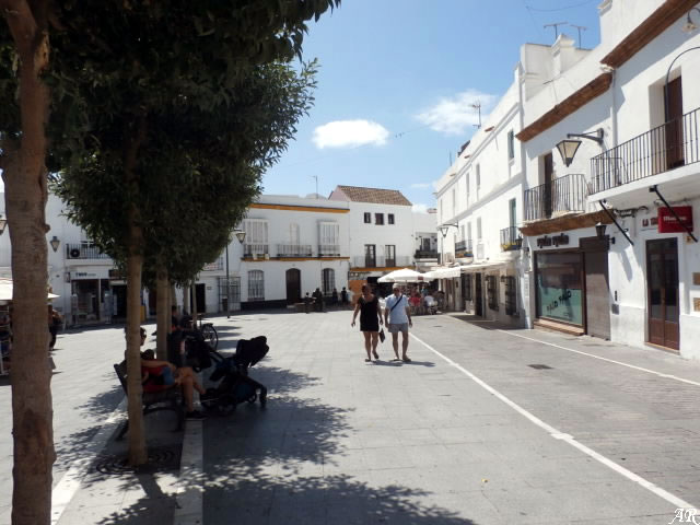 Plaza de España de Conil de la Frontera