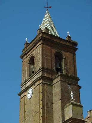 Campanario de la Iglesia del Divino Salvador