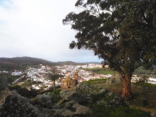 Cortegana desde el Castillo