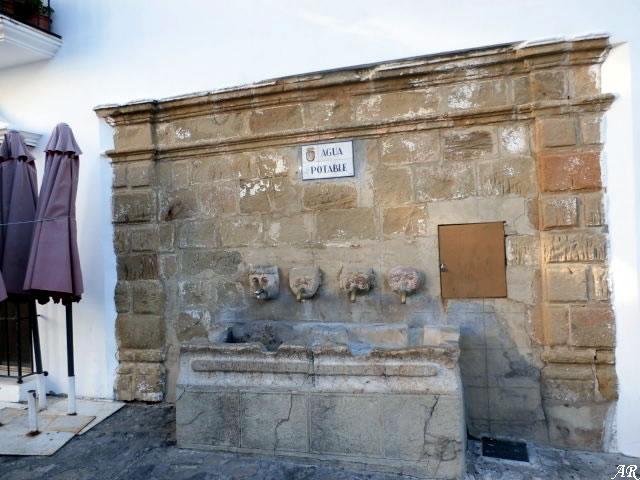 Plaza España Fountain