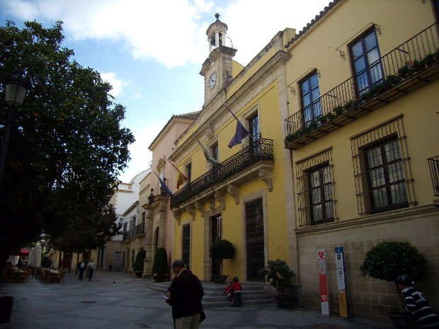 Ayuntamiento de jerez de la frontera monumento hist rico for Azulejos jerez de la frontera