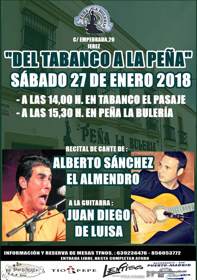 Peña la Bulería de Jerez de la Frontera - Ciclo DEL TABANCO A LA PEÑA