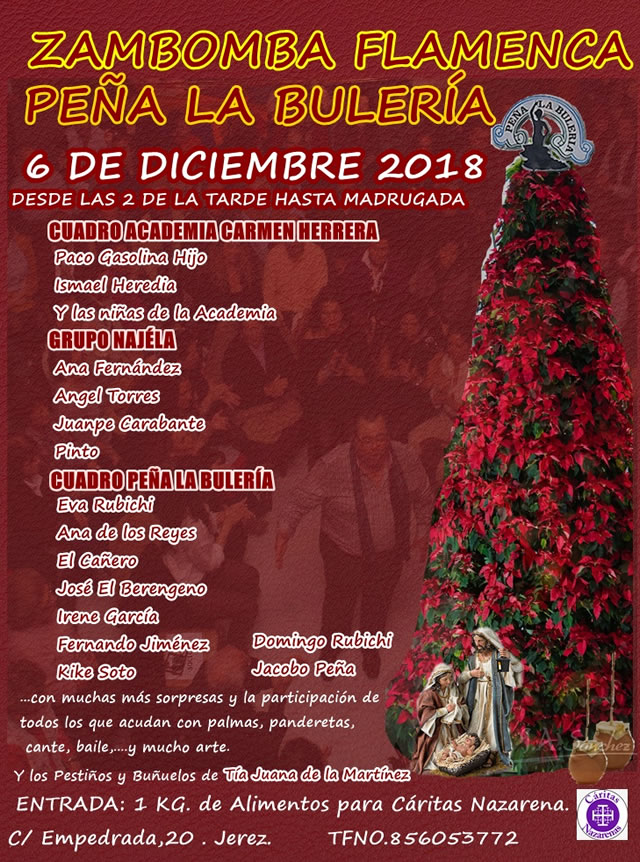 Zambomba Flamenca Peña la Bulería 2018