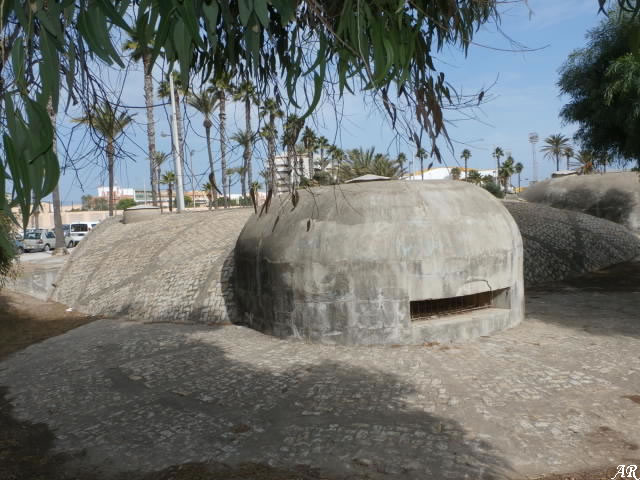 Fortificaciones de la Guerra Civil Española - Bunker en el Parque Reina Sofia