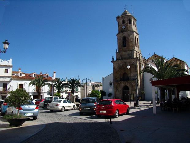 Plaza de la Iglesia de Los Barrios - Campo de Gibraltar