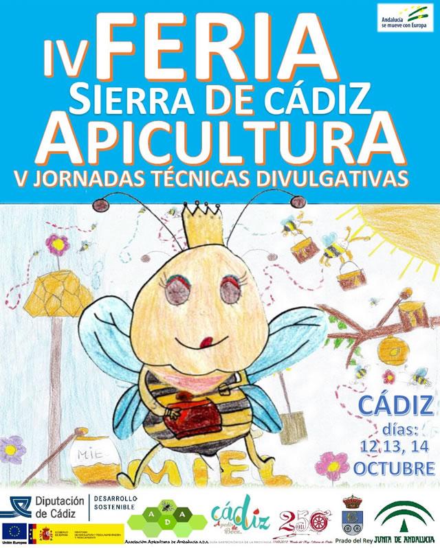 IV Feria Sierra de Cádiz Apicultura - V Jornadas Técnicas Divulgativas - Prado del Rey
