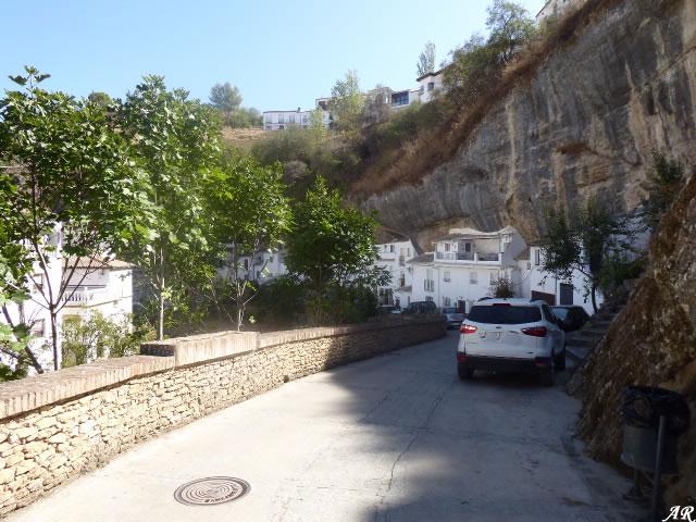 Calle Jabonería de Setenil de las Bodegas
