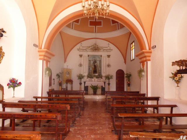 Nave de la Ermita de Nuestra Señora del Carmen de Setenil de las Bodegas