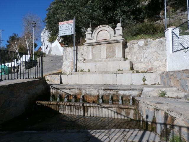 Nueve Caños Fountain - Ubrique