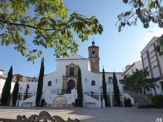 Iglesia de Ntra. Sra. de la Anunciación - Alcudia - Valle del Zalabí