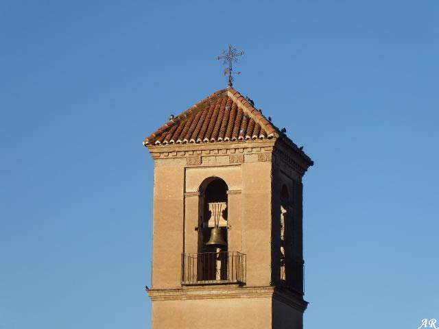 Campanario de la Iglesia de Ntra. Sra. de la Anunciación de Exfiliana - Valle del Zalabí