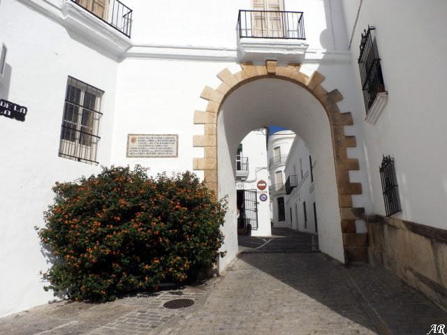 Arco de la Villa de Vejer de la Frontera