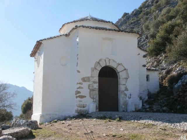 Ermita de El Calvario de Villaluenga del Rosario